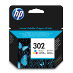 HP CARTUCCIA INKJET 302 MULTICOLOR