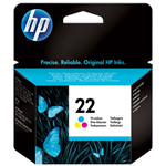 HP CARTUCCIA INKJET 22 MULTICOLOR