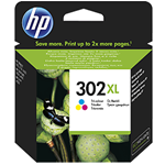 HP CARTUCCIA INKJET 302 XL MULTICOLOR 8ML