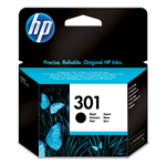 HP CARTUCCIA INKJET 301 BLACK 3ML