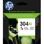HP CARTUCCIA INKJET 304XL MULTICOLOR